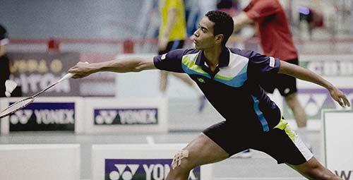 Brasil no badminton- -