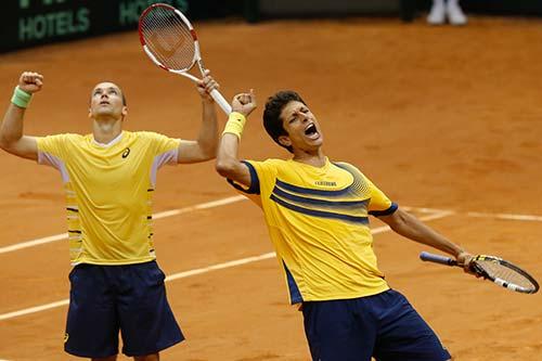 Bruno Soares e Marcelo Melo -Tênis - Brasil