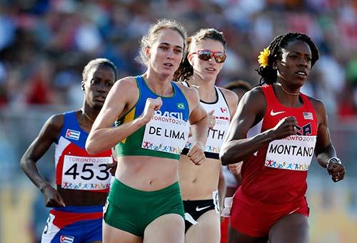 Flávia Maria de Lima -Atletismo – 800m - Campo do Tenente
