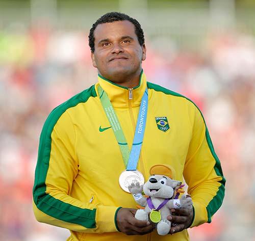 Júlio César de Oliveira -Atletismo – lançamento de dardo - Paranavaí