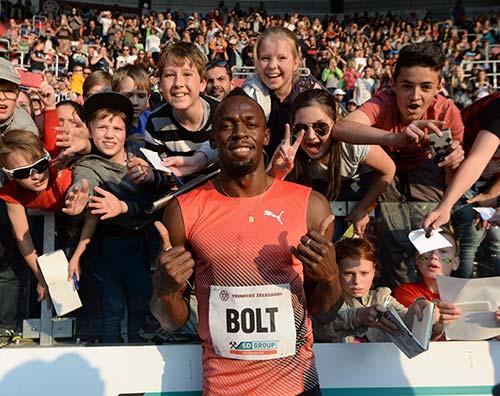 Despedida de Usain Bolt- -