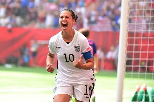 Carli Lloyd -Futebol - EUA