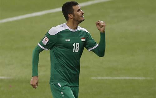 Aymen Hussein (Iraque)-Futebol - Iraque