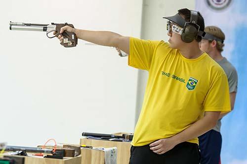 Felipe Wu -Tiro esportivo - Brasil