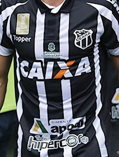 foto da camisa do ceara no brasileirão em 2018