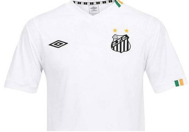 foto da camisa do santos no brasileirão em 2018