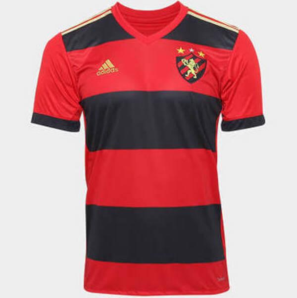 foto da camisa do sport no brasileirão em 2018