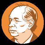 Ilustração do rosto do candidato à presidência Ciro Gomes