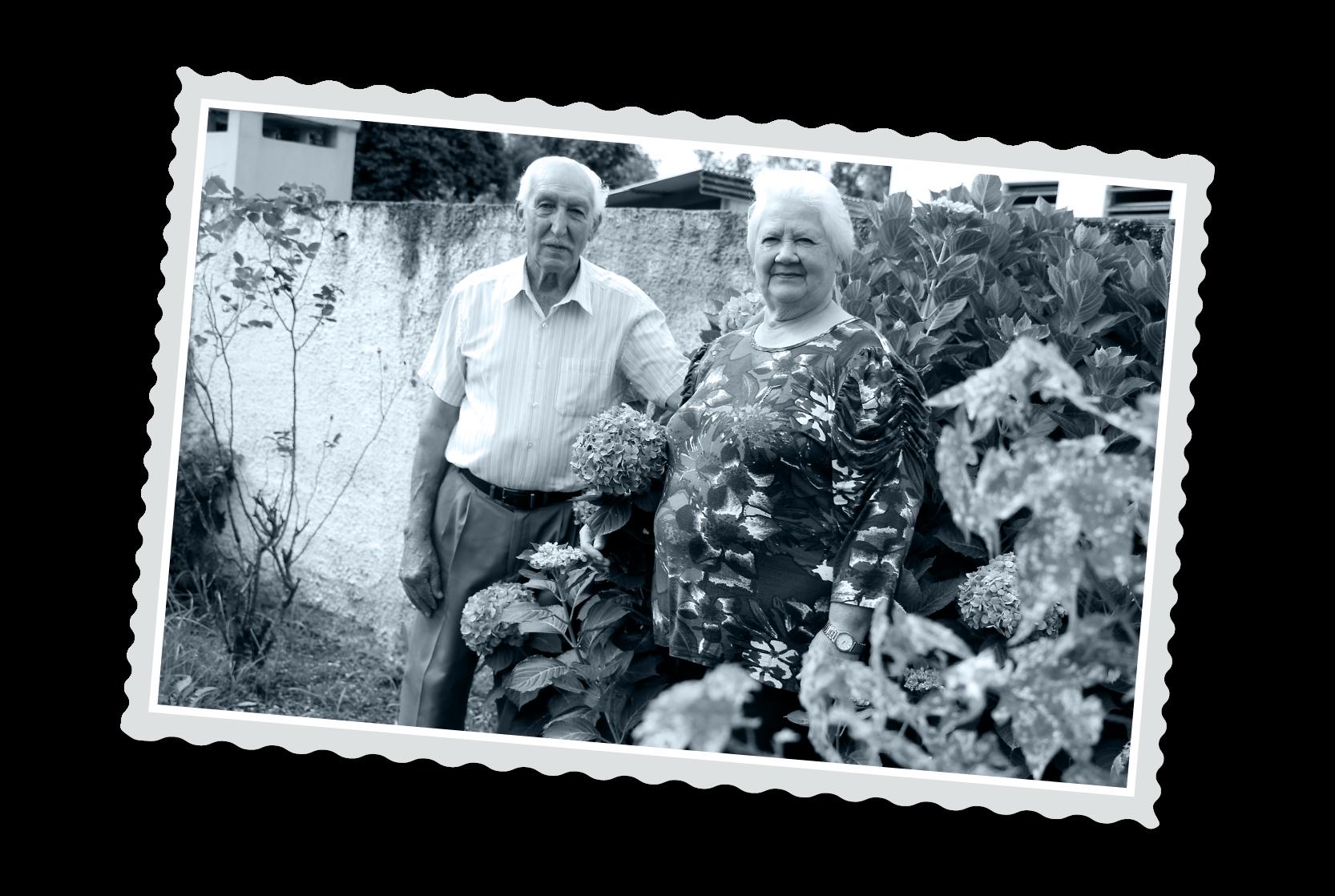 Maria Vilma e Ubaldo Paolin
