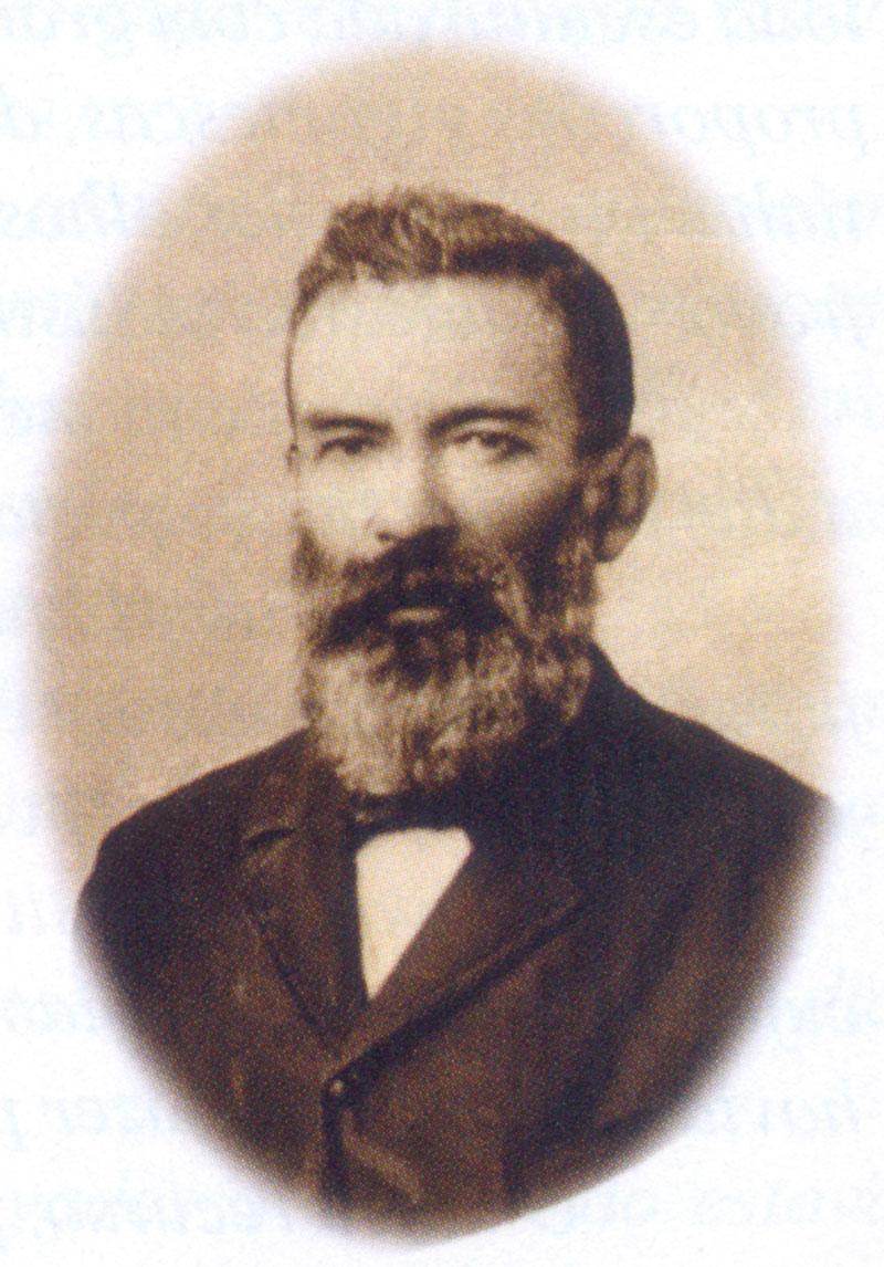 O boticário de Morretes, Joaquim Olympio de Miranda, conquistou o cime do conjunto Marumbi em 1879. (Foto: Coleção Nelson L. Penteado Alves)