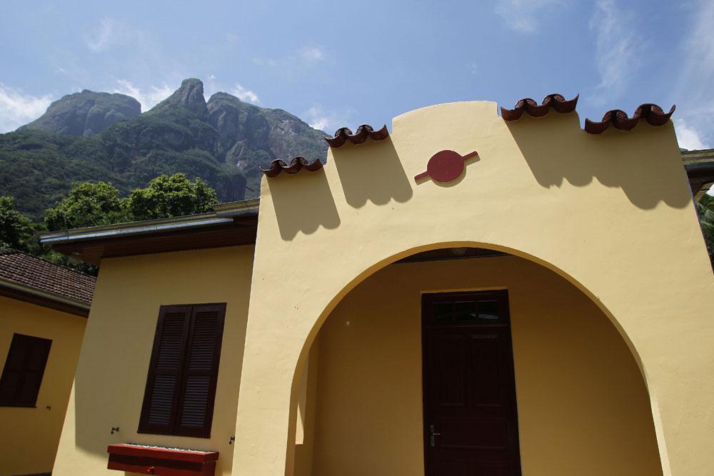Casa próxima à estação Marumbi na Serra do Mar. (Foto: Jonathan Campos/GP)