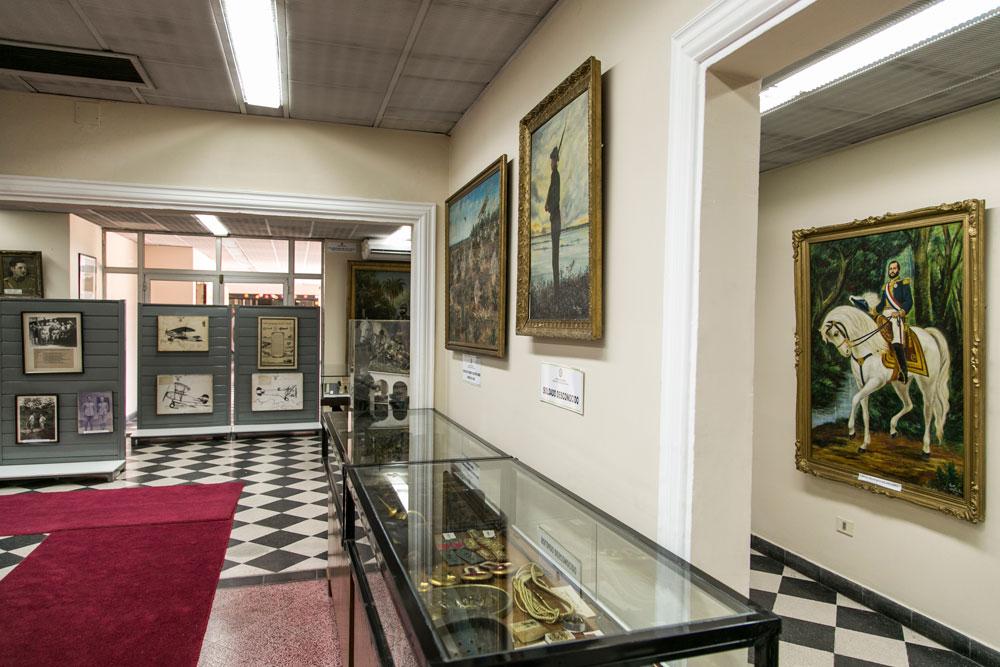 Imagem - O Museu Militar, em Assunção, guarda diversos quadros e objetos referentes à Guerra do Paraguai