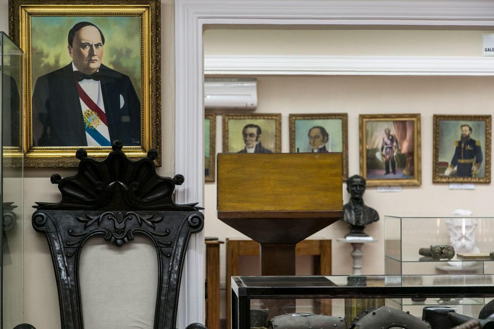 Imagem - Parte do acervo corresponde à doações de troféus de guerra devolvidos por uruguaios e argentinos