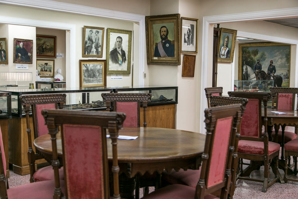 Imagem - Móveis que pertenciam à família de Solano López e devolvidos pela Argentina recentemente