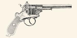 Revólver usado por oficiais