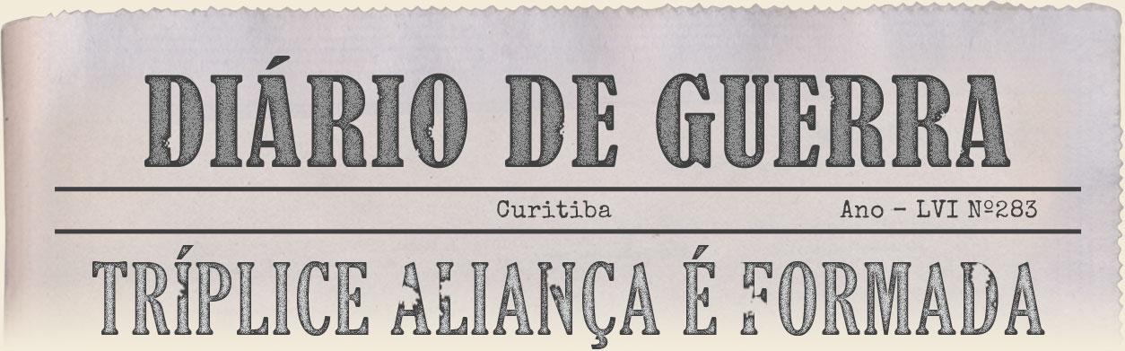 Imagem - Diário de Guerra - Tríplice alicança é formada