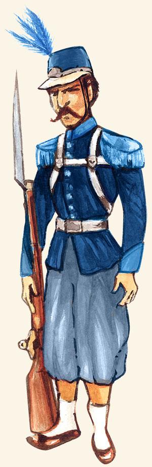 Imagem - Soldado Argentino